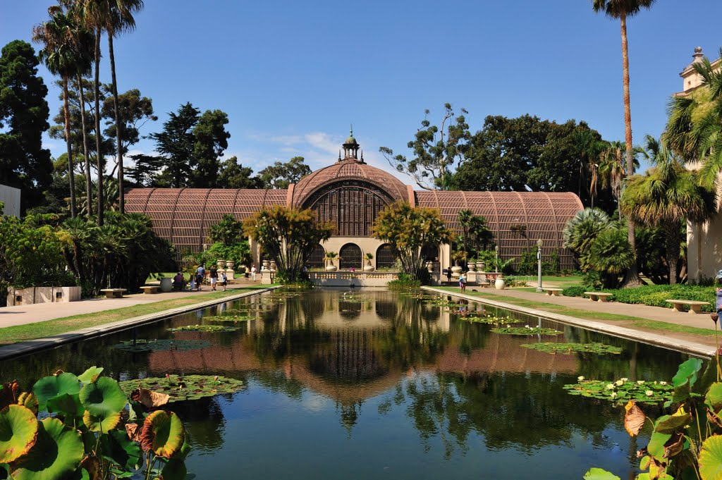 Balboa Park is a great place to barbecue