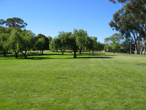 Pioneer Park – Mission Hills is a great place for a large grilling party