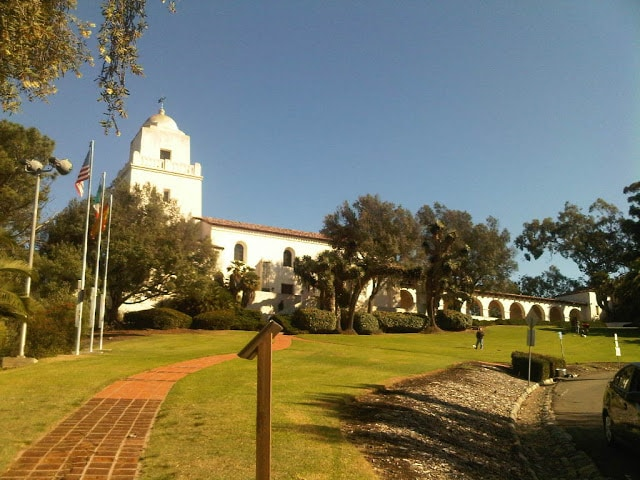Presidio Park, north of Old Town San Diego