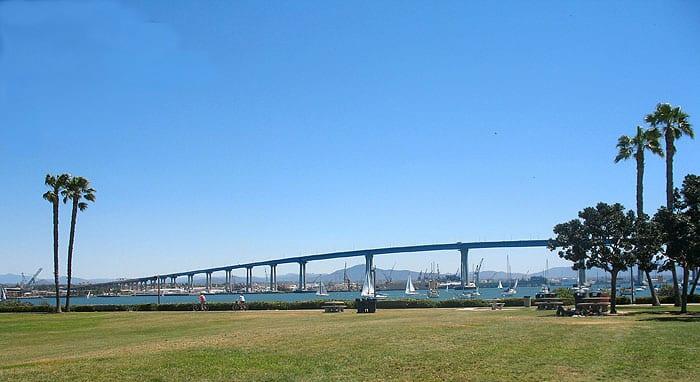 Tidelands Park in Coronado, CA