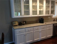 Kitchen remodel - redesigned hand-crafted cabinetry