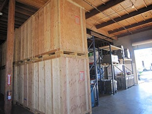 Itemized and secure contents storage in San Diego
