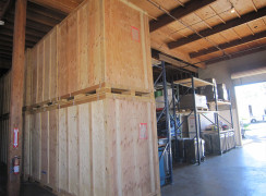 Our secure storage facility