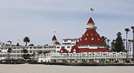 Hotel del Coronado, in Coronado CA
