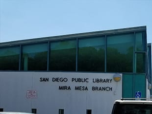 Mira Mesa library branch of San Diego