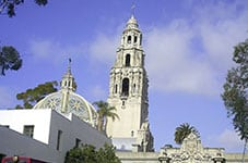 Balboa Park, near a San Diego water damage restoration job
