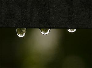 water drops are a sign that you might need an Escondido water damage restoration service