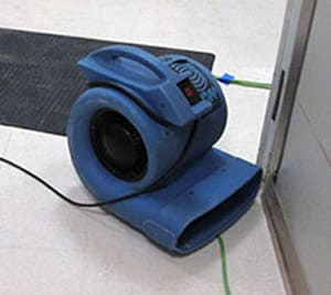 our Lakeside water damage restoration professional team uses state of the art equipment