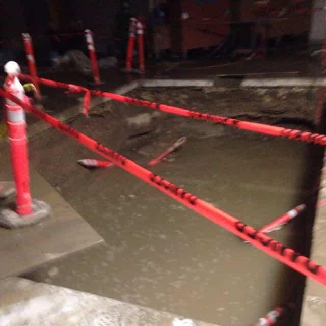 San Diego Marriott Marquis basement flood damage repair 10