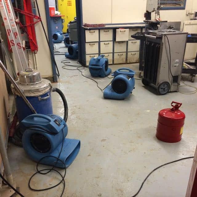 San Diego Marriott Marquis basement flood damage repair 1