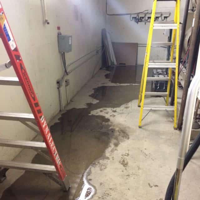 San Diego Marriott Marquis basement flood damage repair 11