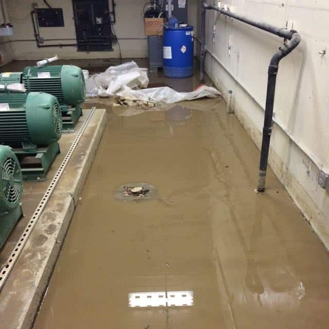 San Diego Marriott Marquis basement flood damage repair 12