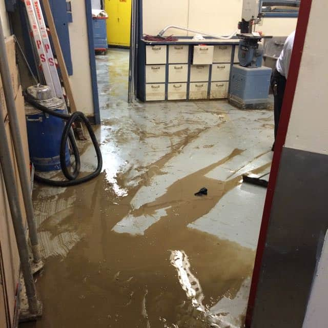 San Diego Marriott Marquis basement flood damage repair 13