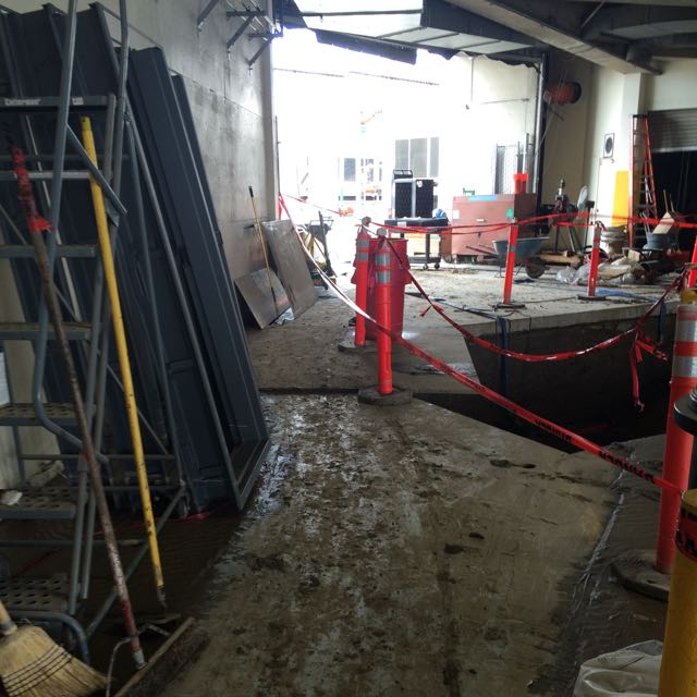 San Diego Marriott Marquis basement flood damage repair 3