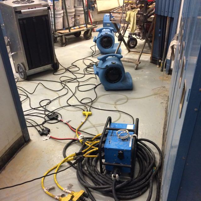San Diego Marriott Marquis basement flood damage repair 4