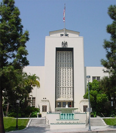 Burbank, CA city hall