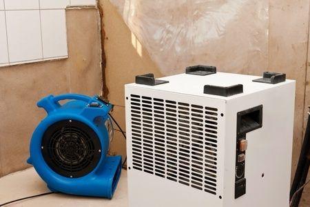 Turbo dryer set up for HVAC equipment