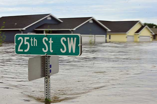 A good reason to buy flood insurance