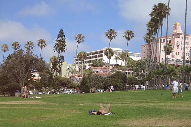 Scripps Park in San Diego