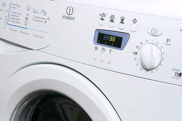 Washing machine water damage