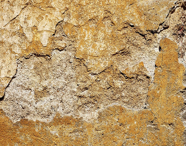 water damaged stucco