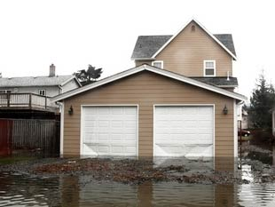 a water damaged home in Imperial Beach
